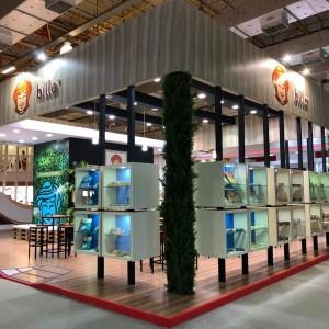 Billa expõe sua linha de produtos na APAS Show e fortalece relacionamento com o mercado